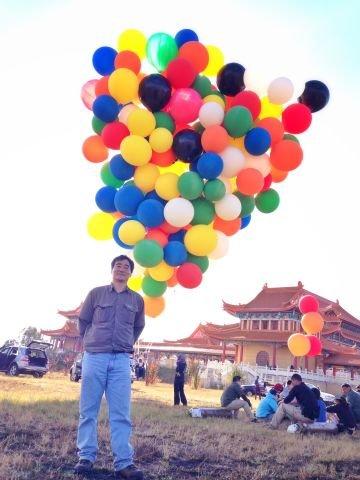 氦气球飞行,张昕宇,270,梁红,烟斗 【氦气球飞行】我和270的氦气球飞行