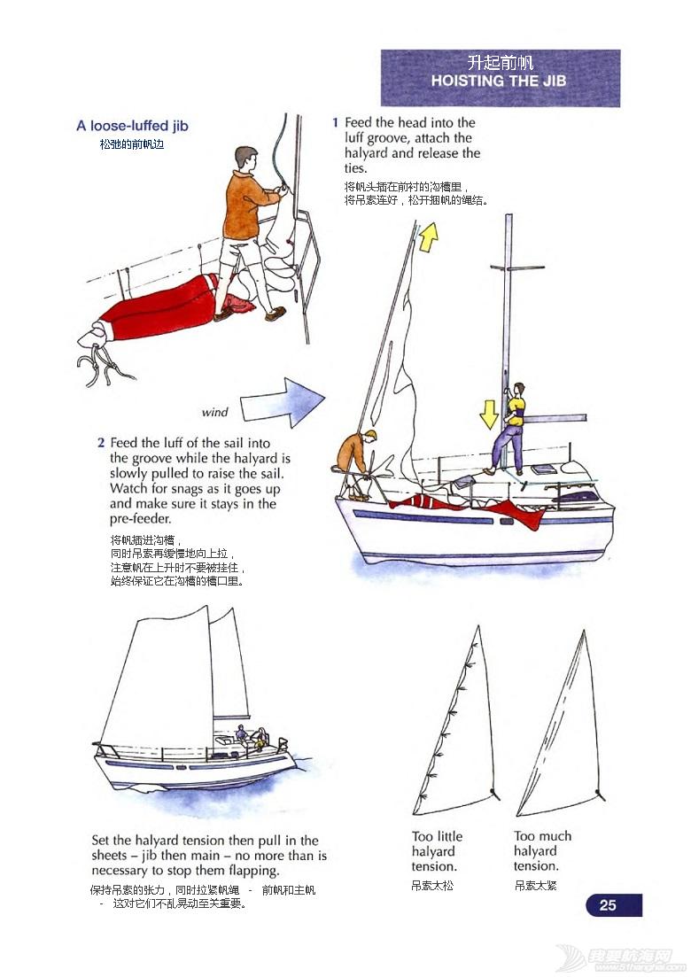 小伙伴,英文版,著作权,中文,帆船 《称职船员训练》Competent Crew By RYA .完稿