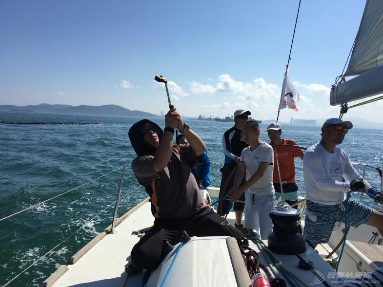"""青岛,日照,激情 2016年青岛""""市长杯""""帆船赛,我要去航海--日照公益队"""