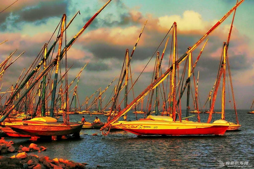 穆斯林,西班牙,地中海,大西洋,印度洋 三角帆船