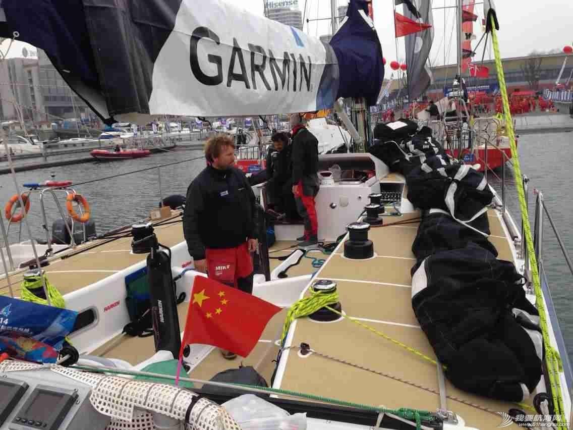 3月12日,徐京坤受到garmin号上来自澳大利亚帕斯的水手马克邀请参观他们的船。 mmexport1394612411472.jpg