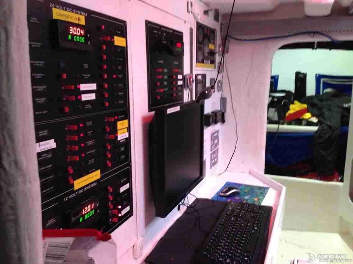 3月12日,徐京坤受到garmin号上来自澳大利亚帕斯的水手马克邀请参观他们的船。 mmexport1394612565706.jpg