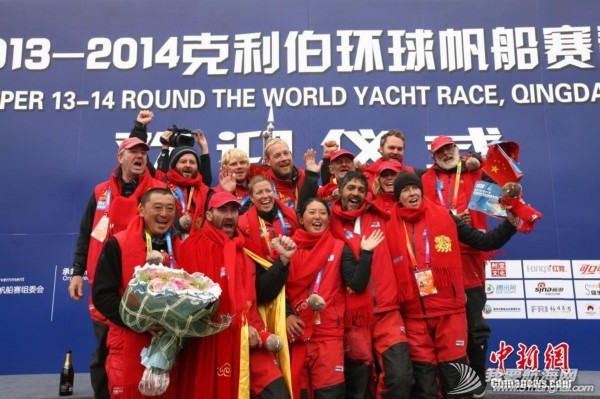 """中国,青岛 克利伯环球帆船赛中国""""青岛号""""回家 2712076818682364866.jpg"""