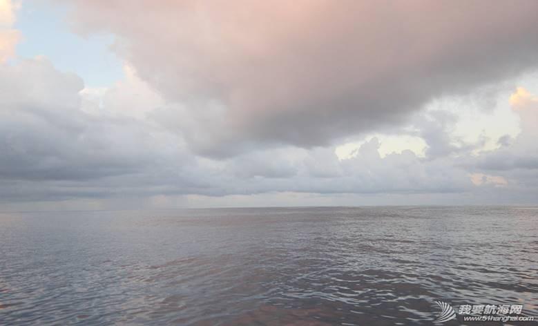 环球航海,帆船,大西洋,爱妮娅,旅游 环球航行纪事2014-横穿大西洋的日子(11)·雨雾行舟 At