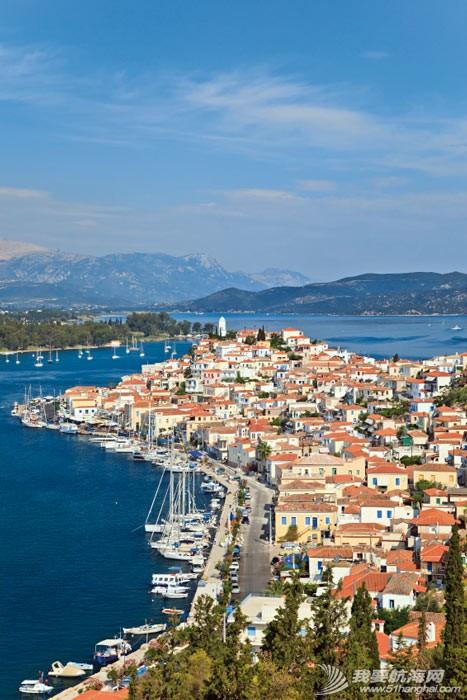 希腊爱琴海,2014,帆船,自驾 2014海上自驾第一站——希腊爱琴海浪漫帆船游 poros.jpg
