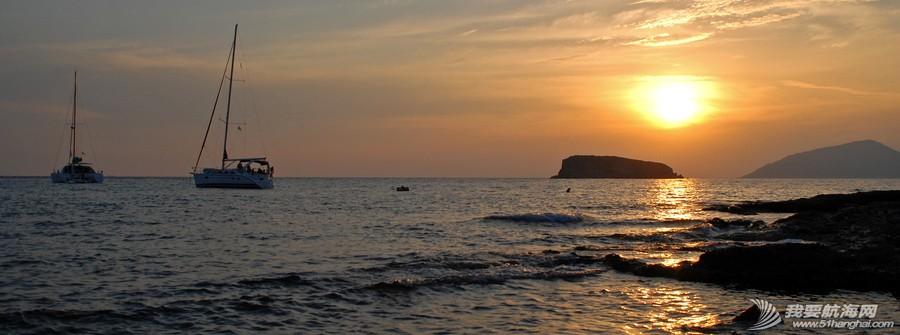 希腊爱琴海,2014,帆船,自驾 2014海上自驾第一站——希腊爱琴海浪漫帆船游 SUNSET.jpg