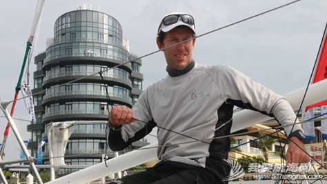 澳大利亚,海南岛,奥运会,三亚,拉力赛 澳大利亚帆船名将马尔科姆·佩奇期待参加把帆船赛场设立在三亚的奥运会。 2.png