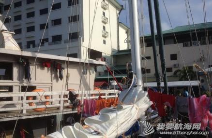 3月22日载着新船员阿康,顺风顺浪,一天130海里抵达仙本纳海域。 11.png