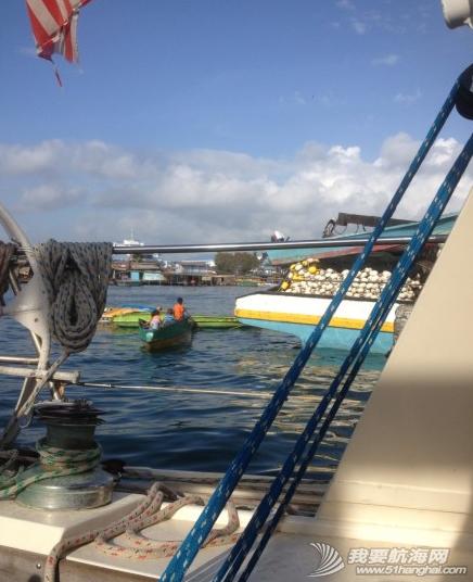 3月22日载着新船员阿康,顺风顺浪,一天130海里抵达仙本纳海域。 12.png