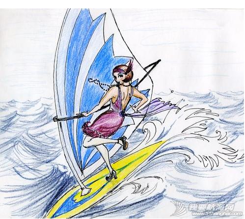 帆板,帆板图画,欣赏 帆板图画欣赏 1.png