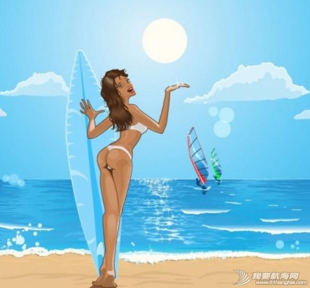 帆板,帆板图画,欣赏 帆板图画欣赏 4.png