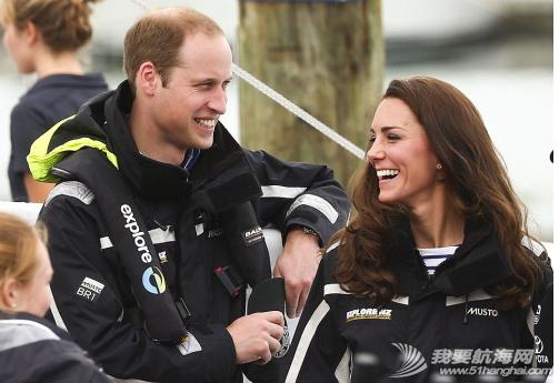 威廉王子,威廉和凯特,新西兰,帆船竞赛 11日,正在新西兰进行访问的威廉王子夫妇进行了一场帆船竞赛,最终王妃凯特连赢2场。 20.png
