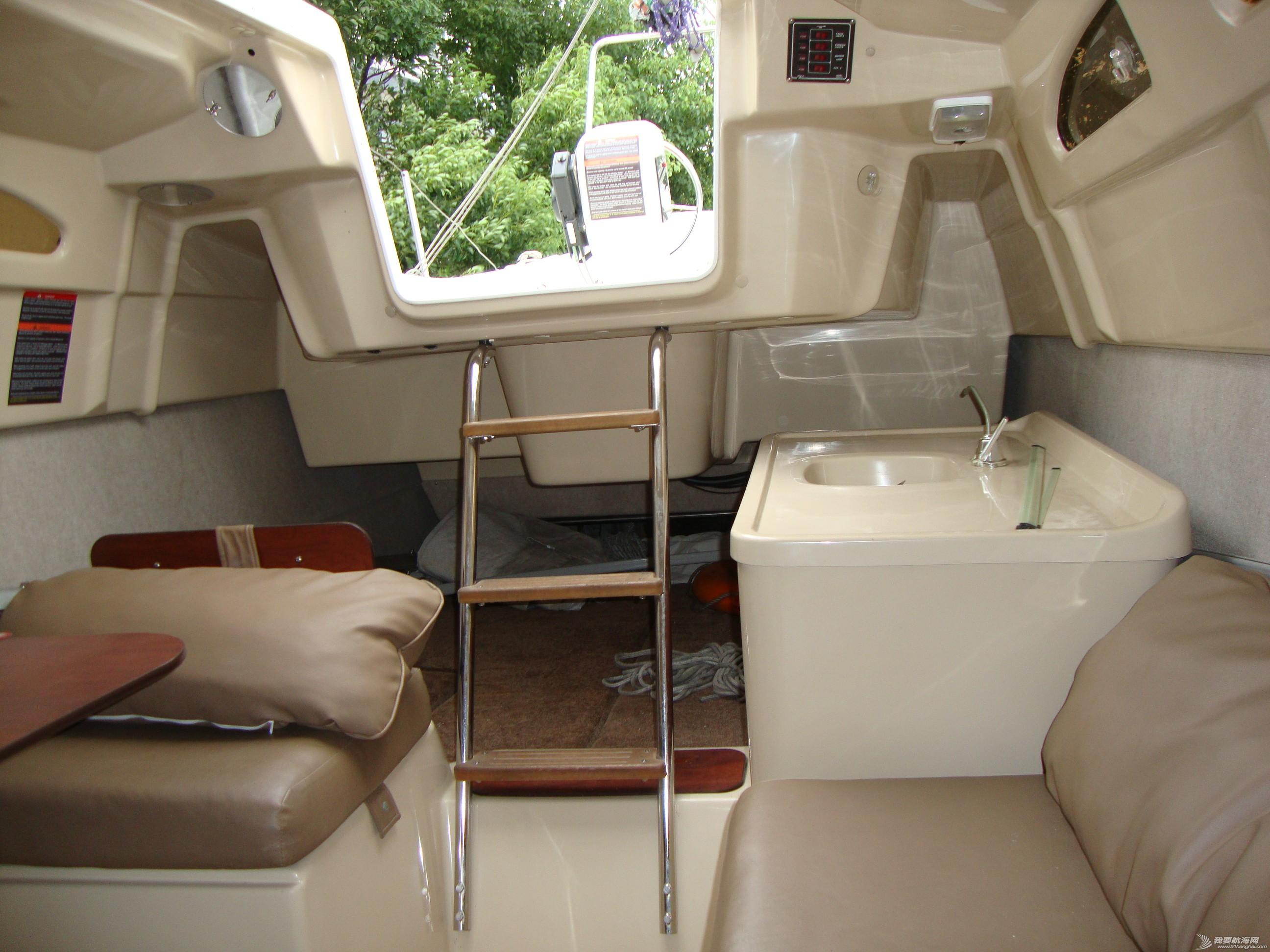 电子设备,双人床,发电机,发动机,电视机 船主委托转让美贵格26机动帆船 DSC04629.JPG