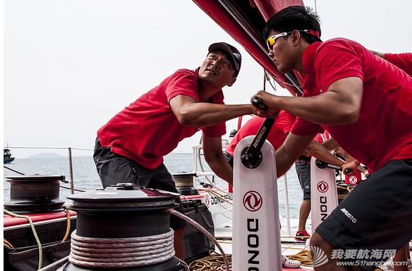 东风队,沃尔沃环球帆船赛,训练图片 让我们通过照片回顾东风队在初期训练阶段中走过的每一步。 10.png