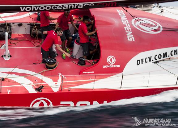 东风队,沃尔沃环球帆船赛,训练图片 让我们通过照片回顾东风队在初期训练阶段中走过的每一步。 17.png