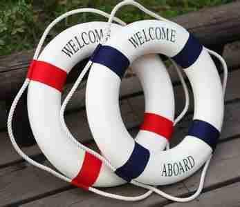 救生圈,帆船,知识,把手,帆布 2013-12-13【帆船知识】救生圈的使用常识 0.jpg