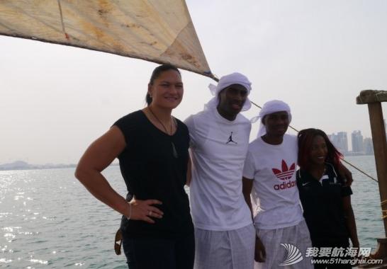 2014,国际田联,卡塔尔,多哈,帆船 5月7日国际田联钻石联赛选手登上了古老的卡塔尔式单桅三角帆船体验多哈风情。 4.png