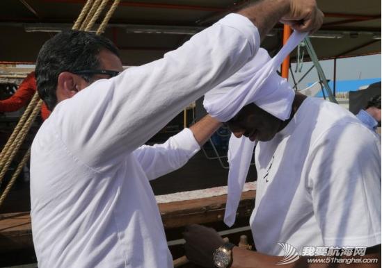 2014,国际田联,卡塔尔,多哈,帆船 5月7日国际田联钻石联赛选手登上了古老的卡塔尔式单桅三角帆船体验多哈风情。 8.png