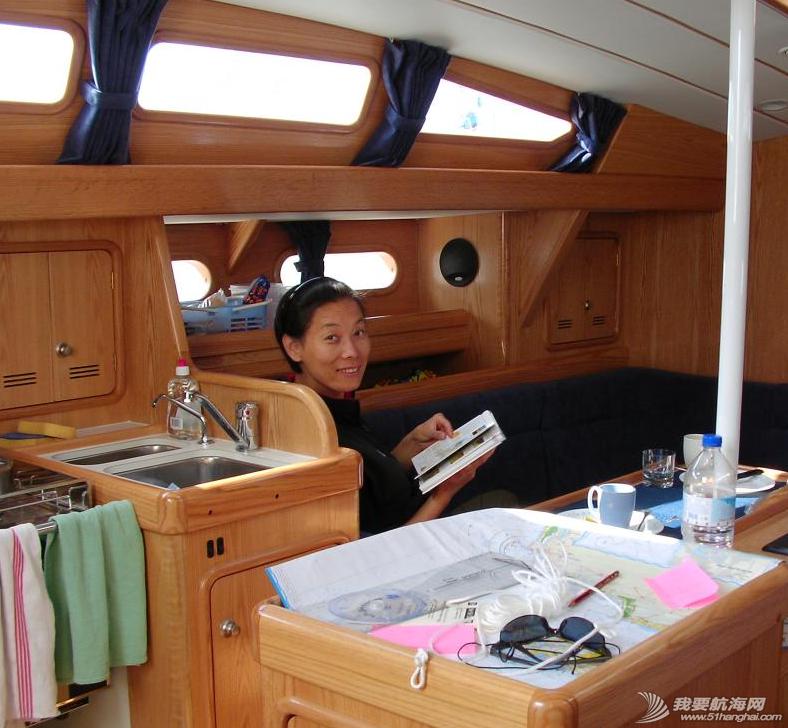 帆船,厂家 我负责把船弄得尽量舒适,老公负责船的所有技术问题。---《大西洋航游760天》 4.png