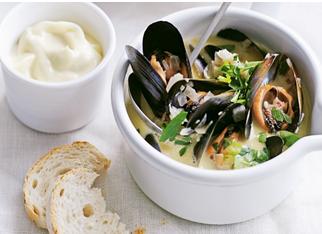 美食系列一:法国的白葡淡菜 Moules Marinières。---《大西洋航游760天》 11.png