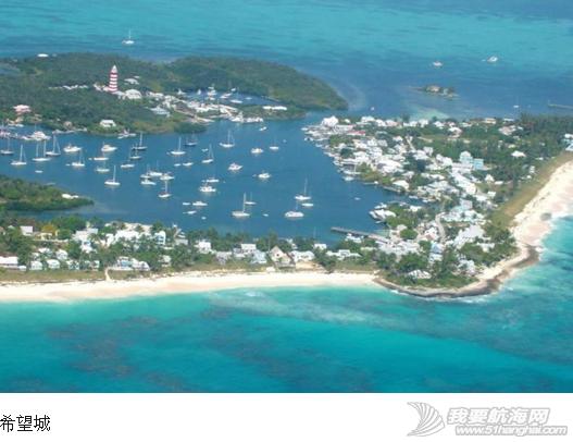 """蒙特利尔,避风港,心脏病,巴哈马,罗德岛 """"同道者""""2006年12月16日抵达巴哈马的阿巴可。---《大西洋航游760天》 20.png"""