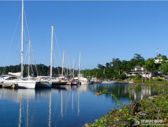 牙买加,安东尼奥,大西洋,避风港,东北风 下一站是牙买加,从乔治城到安东尼奥港海程是440海里。---《大西洋航游760天》 12.png