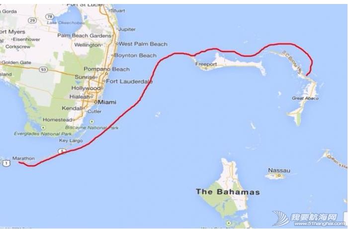 百慕大,北大西洋,墨西哥湾,佛罗里达,马拉松 最后三个月的航海经历很不一样,境遇变了,心情比较复杂。---《大西洋航游760天》 3.png
