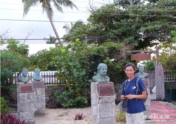 """百慕大,北大西洋,新英格兰,避风港,暴风雨 """"同道者""""在阿巴可逗留两个星期,万事俱备,只欠南风。---《大西洋航游760天》 17.png"""