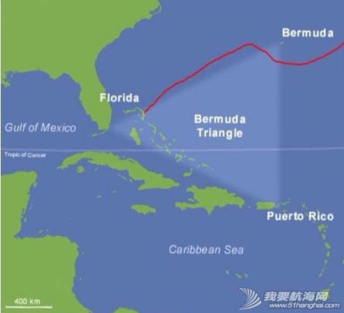 百慕大三角,外星人,大西洋,墨西哥,加勒比 所剩时间越来越少,只好放弃到访百慕大,直奔亚速尔群岛.---《大西洋航游760天》 20.png