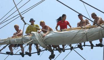 """中国女水手,张洁,领航员 """"北欧最受关注的中国女水手""""张洁担任《起航吧,少年》的领航员 4.png"""