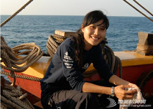 """中国女水手,张洁,领航员 """"北欧最受关注的中国女水手""""张洁担任《起航吧,少年》的领航员 1.png"""