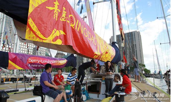 中国船员,克利伯帆船赛,李珺,纽约 青岛号在抵达纽约后,就又有一名来自中国的新船员李珺加入。 3.png