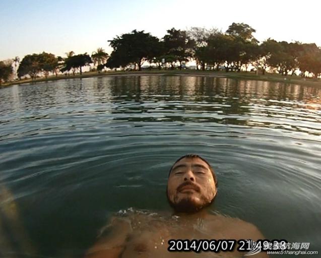 亚历山大湖,旅行者,一个人,游泳 亚历山大湖,只有我一个人游泳,鳄鱼和蛇旱季都哪去? 34.png