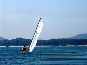 帆船,技巧,知识,平衡,水手 2014-06-04强风中驾驶Mirror小型帆船的技巧知识 0.jpg