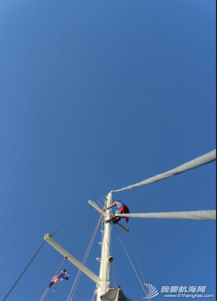 达尔文,导轨,变形,流量,螺栓 登桅杆顶,检查前帆故障,前面紧固桅杆,贯通铝制导轨的钢筋断了! 11.png
