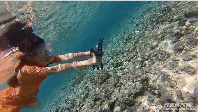 东南风,柔韧性,大海,朝天,帆船 馨馨的航海日志:我在水深2000——4000米的大海中或浮潜或游过泳! 18.png