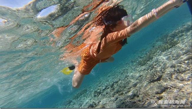 东南风,柔韧性,大海,朝天,帆船 馨馨的航海日志:我在水深2000——4000米的大海中或浮潜或游过泳! 19.png