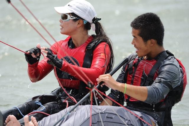 运动员,淀山湖,美女,帆船,故事 2014-06-16 踏着浪花起舞的动感伊人-淀山湖上的帆船故事二 0.jpg