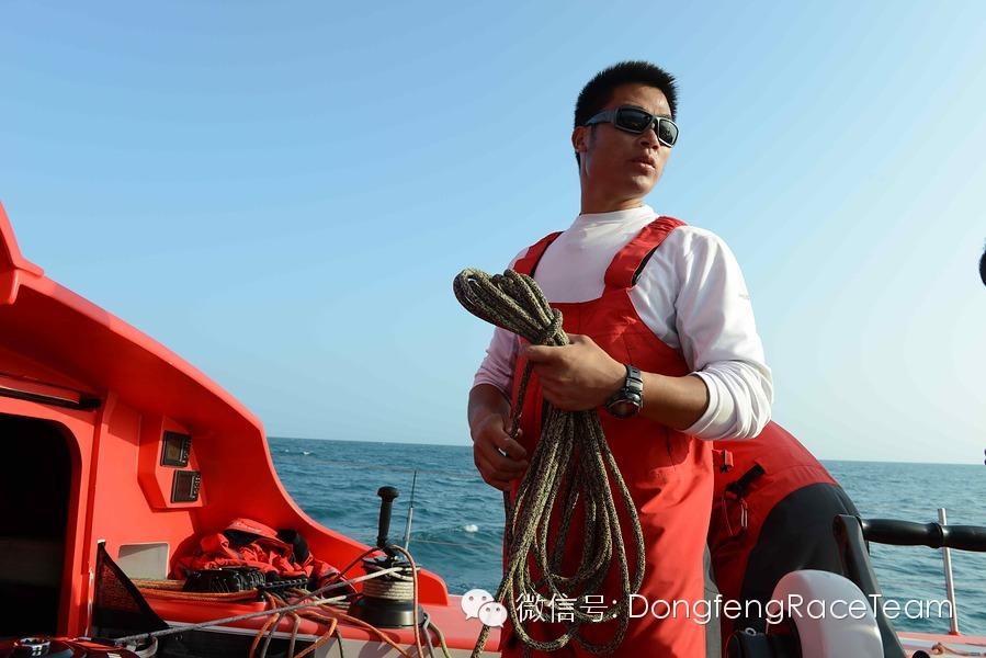 中国船员,奥克兰,中国籍,训练营,三亚 2014-03-19六名中国籍东风队候选船员将参加三亚至奥克兰远洋实战训练 0.jpg