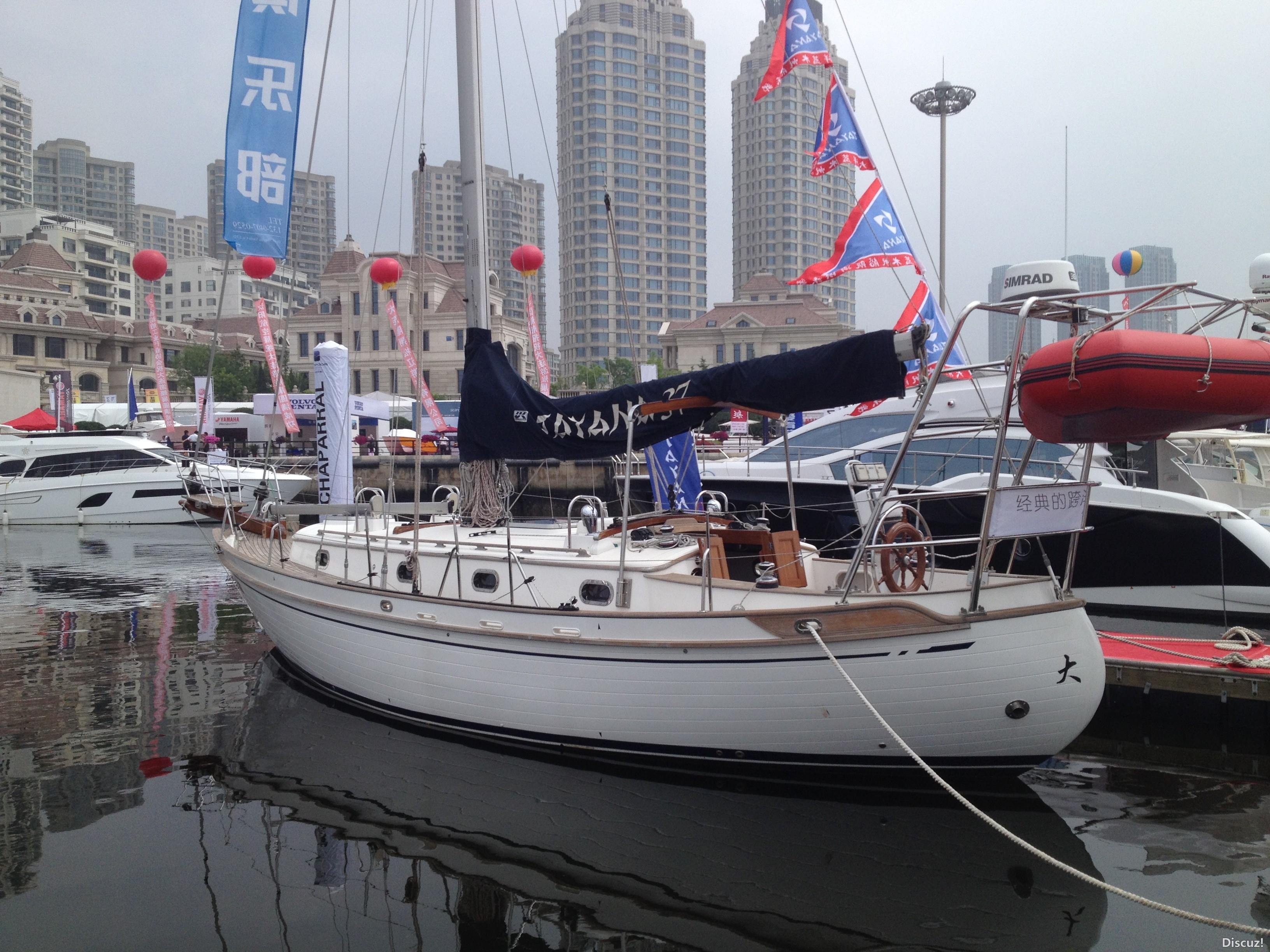 星海湾,大连 大连星海湾游艇码头游艇展-2 IMG_4486.JPG