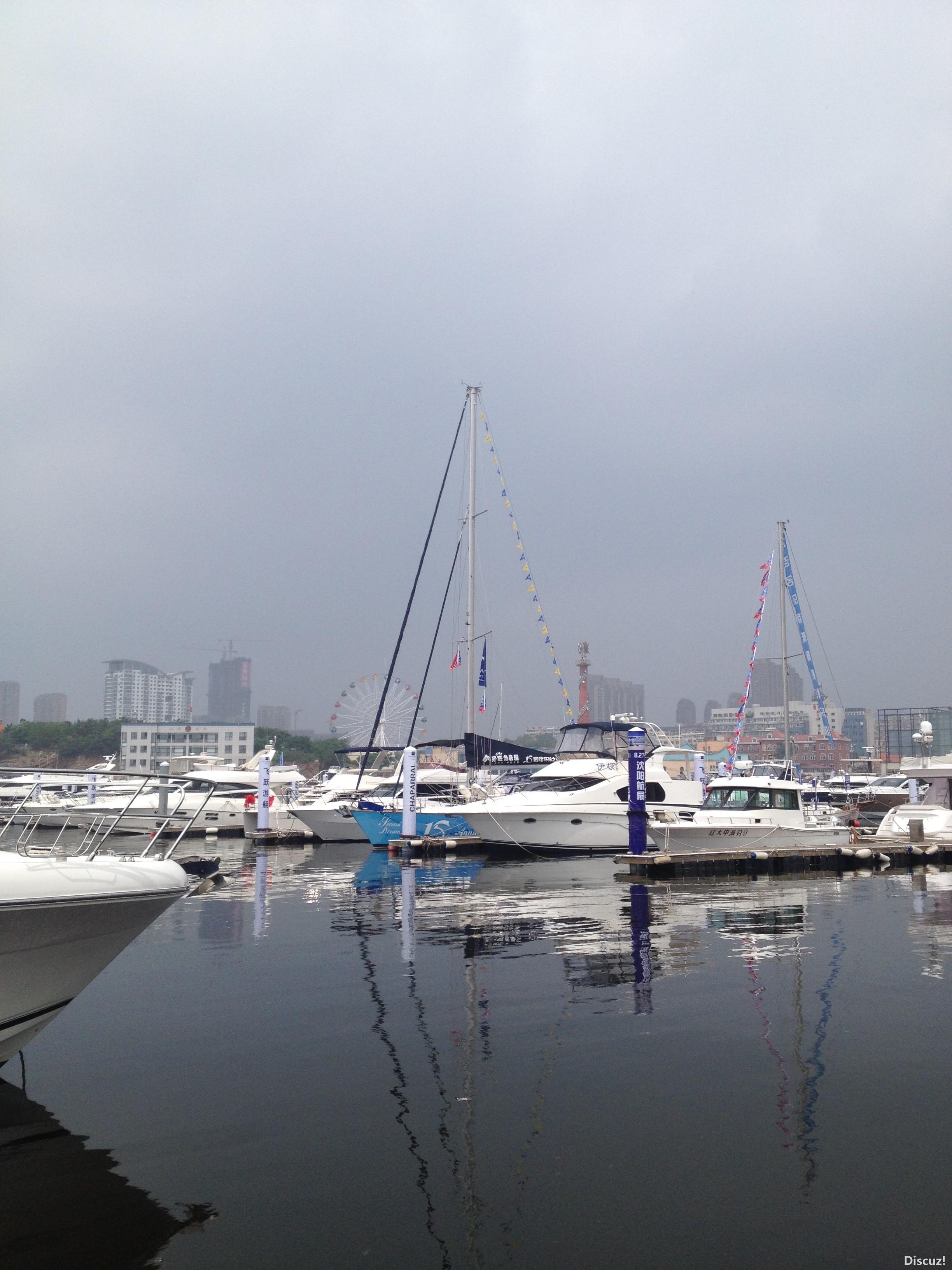 星海湾,大连 大连星海湾游艇码头游艇展-2 IMG_4501.JPG