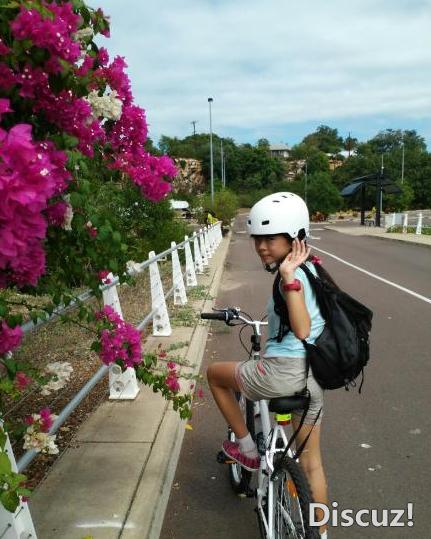 达尔文,自行车,澳洲,中心,鹦鹉 #澳洲生活#来达尔文22天啦!日子过得时阴时晴! 12.png