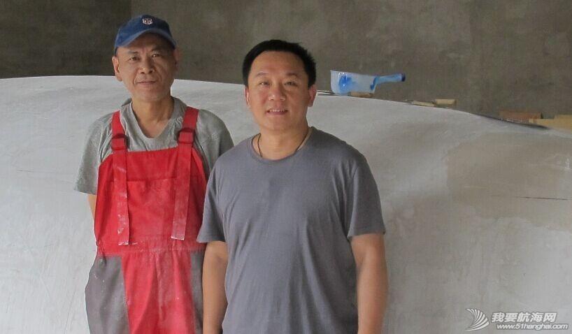 志愿者,帆船 果村GR750帆船DIY建造基地又来新志愿者,大家看认识他么? 5.jpg