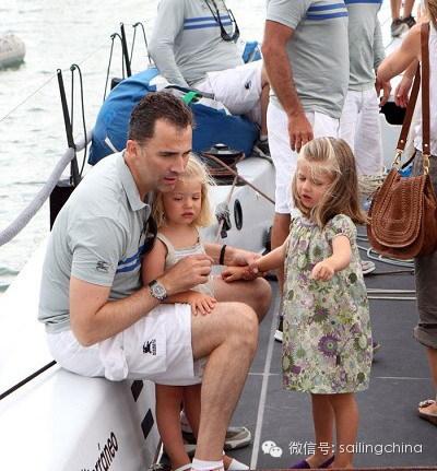 西班牙,巴塞罗那,当地时间,帆船运动,马德里 西班牙新国王费利佩:来自王室的帆船运动员 0.jpg