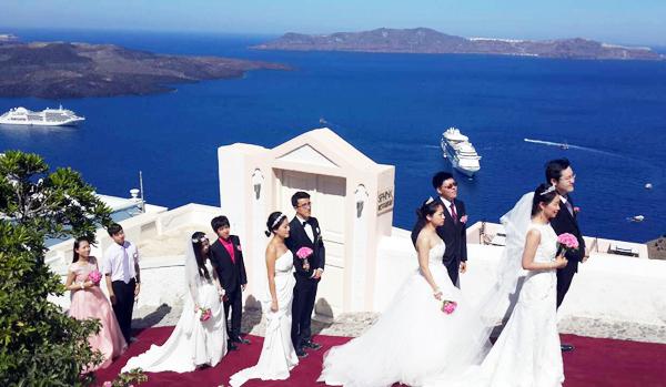 爱琴海,碧海蓝天,新娘,海岛,婚礼 碧海蓝天见证永恒爱恋——我的海外婚礼:爱琴海新娘-希腊浓情海岛之旅甜蜜归来 0.jpg