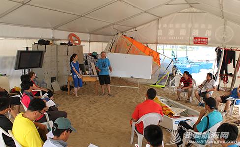 新西兰,威海市,帆船帆板教练员培训班 2014年威海市帆船帆板教练员培训班在环翠区半月湾海域正式开班。 23.png