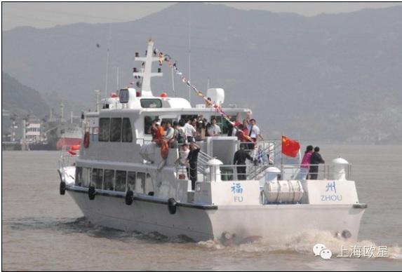 """福州市,发动机,中国,马尾,马祖 """"两马""""航线""""安麒号""""高速客轮  -                       MAN Engines 应用案例 0.jpg"""