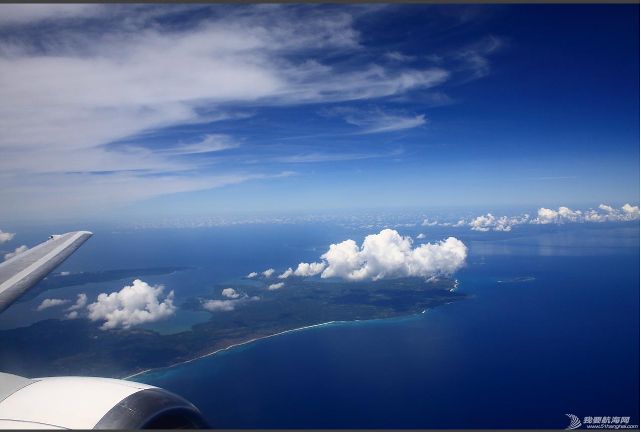 中国,印尼 中国的海,印尼的海。 空中看古邦和罗地岛