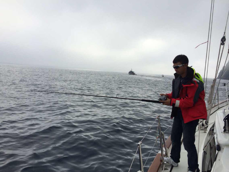 离开海参崴,钓了好多鱼 61550