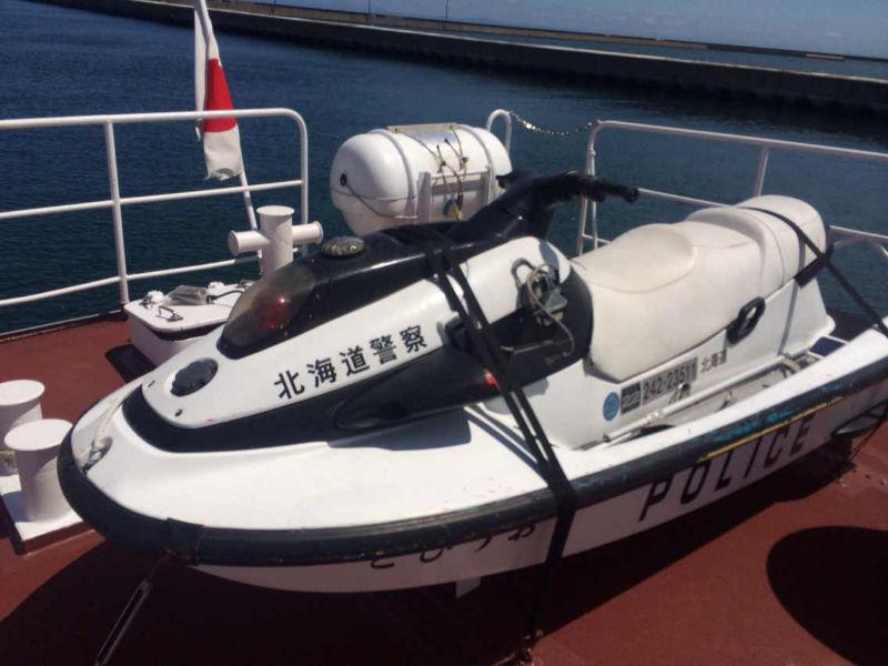 第二梦想号在北海道小樽港感受到不一样的执法文化 64127